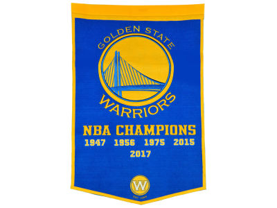 Golden State Warriors Forever Collectibles Dynasty Banner