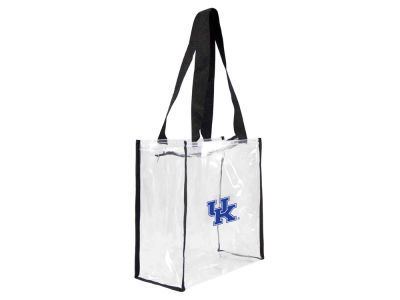 Kentucky Wildcats Clear Square Zip Tote