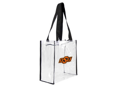 Oklahoma State Cowboys Little Earth Clear Square Zip Tote