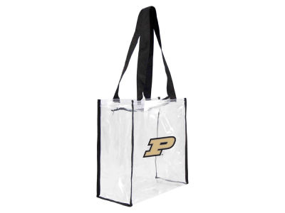 Purdue Boilermakers Clear Square Zip Tote