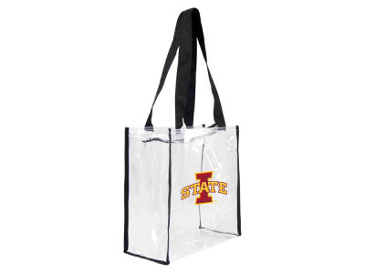 Iowa State Cyclones Clear Square Zip Tote