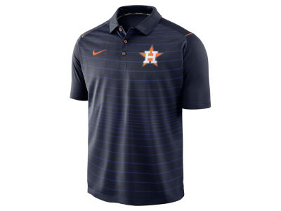 Houston Astros MLB Men's Stripe Polo
