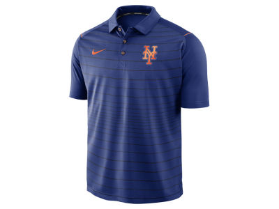 New York Mets MLB Men's Stripe Polo