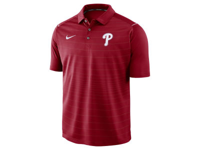 Philadelphia Phillies Nike MLB Men's Stripe Polo
