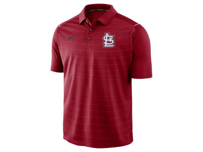 St. Louis Cardinals MLB Men's Stripe Polo