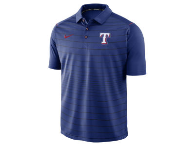 Texas Rangers Nike MLB Men's Stripe Polo
