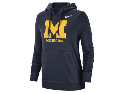 Michigan Wolverines Nike NCAA Women's Club Hooded Sweatshirt