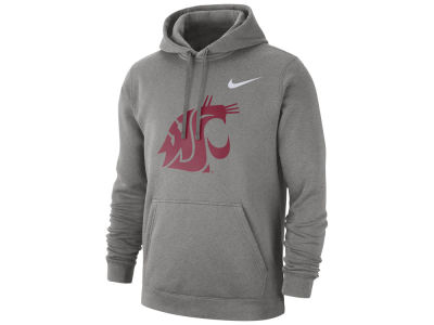 Washington State Cougars Nike NCAA Men's Cotton Club Fleece Hooded Sweatshirt