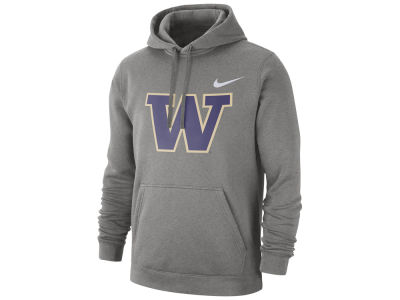 Washington Huskies Nike NCAA Men's Cotton Club Fleece Hooded Sweatshirt