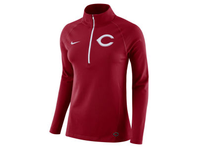 Cincinnati Reds Nike MLB Women's Half Zip Element Pullover
