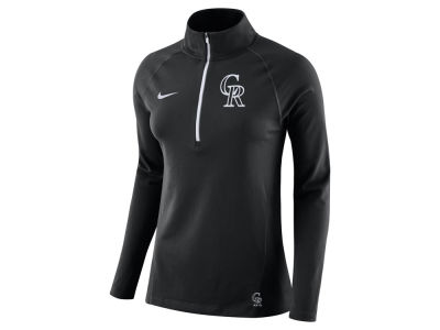 Colorado Rockies Nike MLB Women's Half Zip Element Pullover