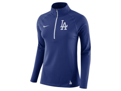 Los Angeles Dodgers Nike MLB Women's Half Zip Element Pullover