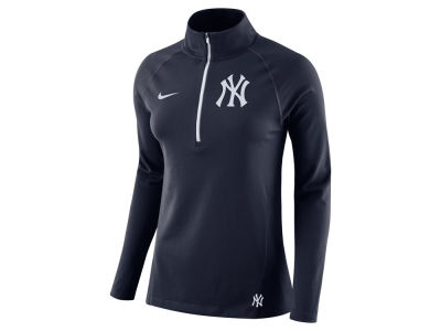 New York Yankees Nike MLB Women's Half Zip Element Pullover
