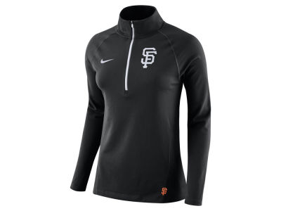 San Francisco Giants Nike MLB Women's Half Zip Element Pullover