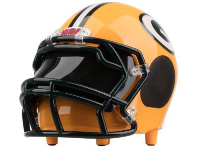 Green Bay Packers Football Helmet Bluetooth Speaker