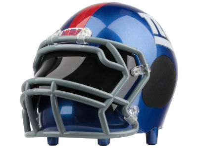 New York Giants Football Helmet Bluetooth Speaker