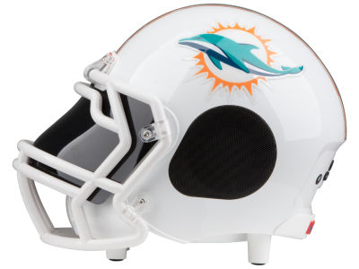 Miami Dolphins Football Helmet Bluetooth Speaker