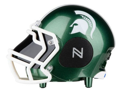 Michigan State Spartans Football Helmet Bluetooth Speaker
