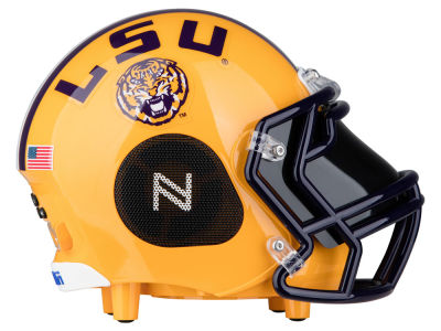 LSU Tigers Football Helmet Bluetooth Speaker