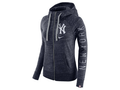 New York Yankees Nike MLB Women's Gym Vintage Full Zip Hooded Sweatshirt