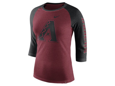 Arizona Diamondbacks Nike MLB Women's Tri-Blend Raglan T-shirt