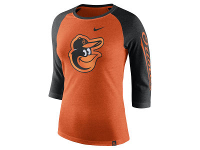 Baltimore Orioles Nike MLB Women's Tri-Blend Raglan T-shirt
