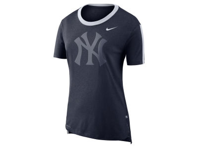 New York Yankees Nike MLB Women's Dri-Blend Mesh T-Shirt