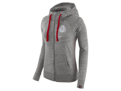 Ohio State Buckeyes Nike NCAA Women's Gym Vintage Full Zip Hoodie
