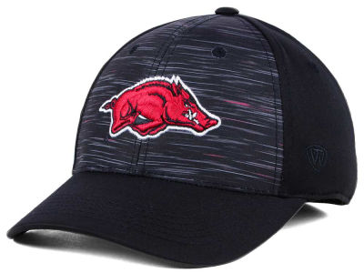 Arkansas Razorbacks Top of the World NCAA Flash Stretch Cap