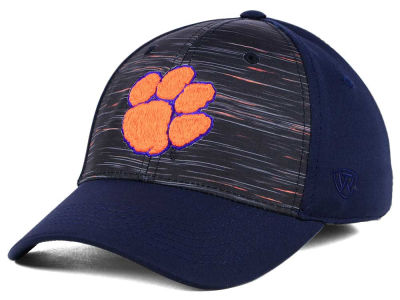 Clemson Tigers Top of the World NCAA Flash Stretch Cap