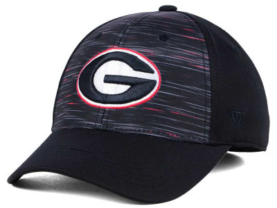 Georgia Bulldogs Top of the World NCAA Flash Stretch Cap