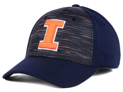 Illinois Fighting Illini Top of the World NCAA Flash Stretch Cap