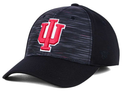 Indiana Hoosiers Top of the World NCAA Flash Stretch Cap