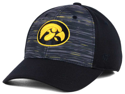 wholesale dealer 4711d 365c4 Iowa Hawkeyes Top of the World NCAA Flash Stretch Cap