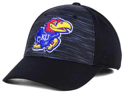 Kansas Jayhawks Top of the World NCAA Flash Stretch Cap