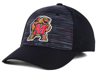 Maryland Terrapins Top of the World NCAA Flash Stretch Cap