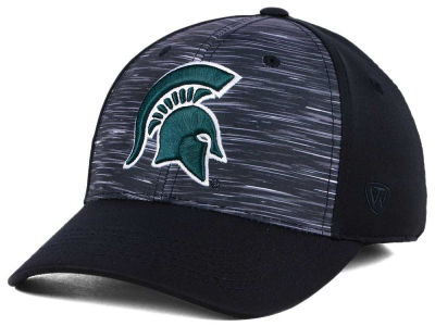 Michigan State Spartans Top of the World NCAA Flash Stretch Cap