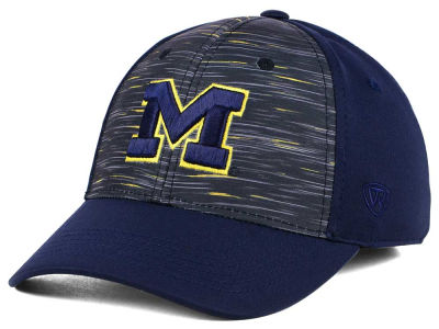 Michigan Wolverines Top of the World NCAA Flash Stretch Cap