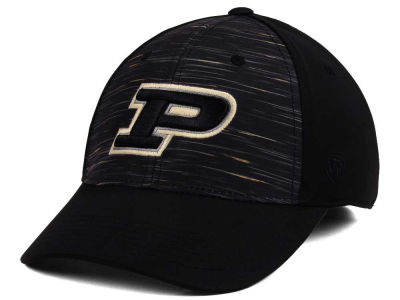 Purdue Boilermakers Top of the World NCAA Flash Stretch Cap