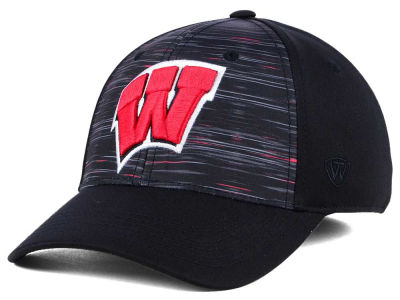Wisconsin Badgers Top of the World NCAA Flash Stretch Cap