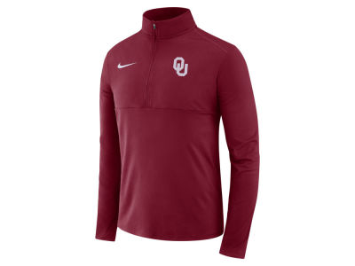 Oklahoma Sooners Nike NCAA Men's Performance Half Zip Pullover