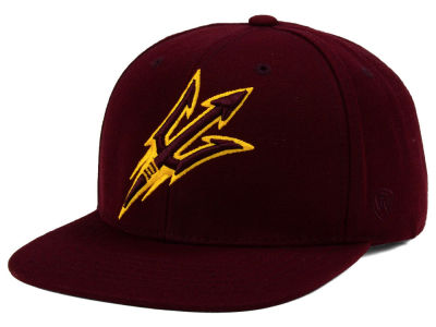 Arizona State Sun Devils Top of the World NCAA Extra Logo Snapback Cap