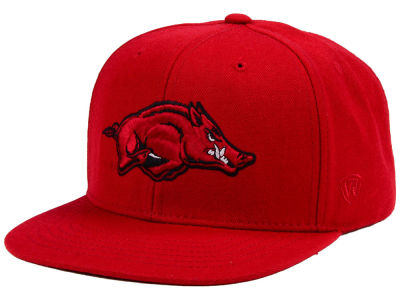 Arkansas Razorbacks Top of the World NCAA Extra Logo Snapback Cap