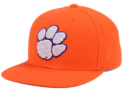 Clemson Tigers Top of the World NCAA Extra Logo Snapback Cap