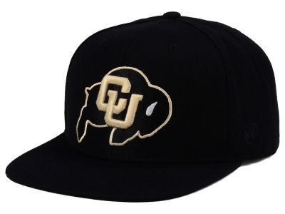 Colorado Buffaloes Top of the World NCAA Extra Logo Snapback Cap