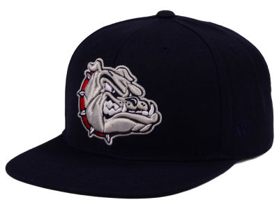 Gonzaga Bulldogs Top of the World NCAA Extra Logo Snapback Cap