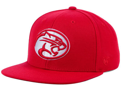 Houston Cougars Top of the World NCAA Extra Logo Snapback Cap