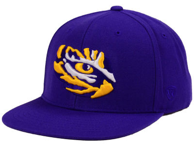 LSU Tigers Top of the World NCAA Extra Logo Snapback Cap