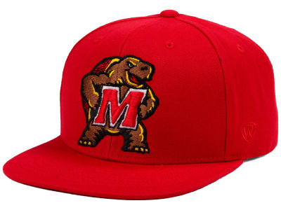 Maryland Terrapins Top of the World NCAA Extra Logo Snapback Cap