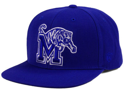 Memphis Tigers Top of the World NCAA Extra Logo Snapback Cap